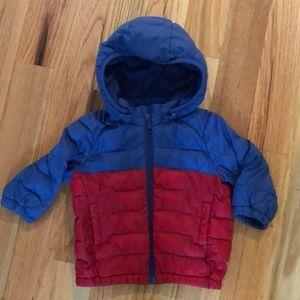 Uniqlo baby puffer jacket